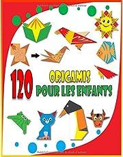 120 Origamis Pour Les Enfants: L'origami comme par magie, Loisirs creatifs, Origamis faciles