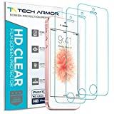 Tech Armor High Definition Clear PET Film Screen Protector (Not Glass) for iPhone 5/5C/5S/SE (Pack of 3)