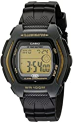 Casio Men's HDD600G-9AV 10-Year-Battery Sport Watch
