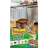indoor cat food friskies - Purina Friskies Indoor Delights Dry Cat Food, 3.15 LB Bag (Pack of 2)