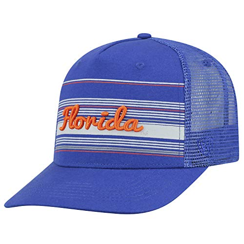 Cap Mesh Trucker Adjustable (Top of the World Florida Gators Official NCAA Adjustable 2Iron Trucker Mesh Hat Cap 394466)