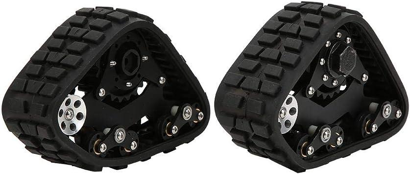 Drfeify Neumáticos de Nieve para Vehículos RC, 1/10 RC ...