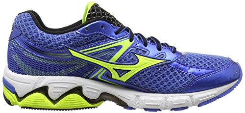 Palace Black Safety Compétition Blue Yellow Wave Connect Blue Chaussures 3 Mizuno Bleu de Homme Running 6vqUn