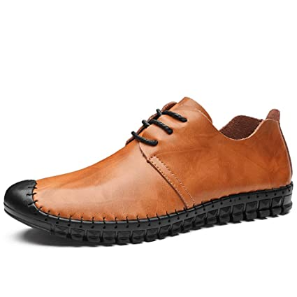 Chaussures Confortables For Verni Oxford Dingguanghe Cuir Shoes Men 0wvm8NnO