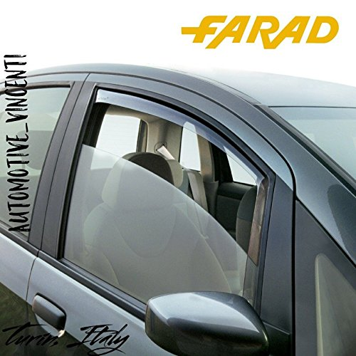 FARAD 1-12.458 COPPIA DEFLETTORI D'ARIA O ANTITURBO ANTERIORI PER AUTO