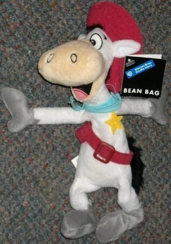 "Retired Warner Brothers Quick Draw McGraw 10"" Plush Bean Bag Doll"