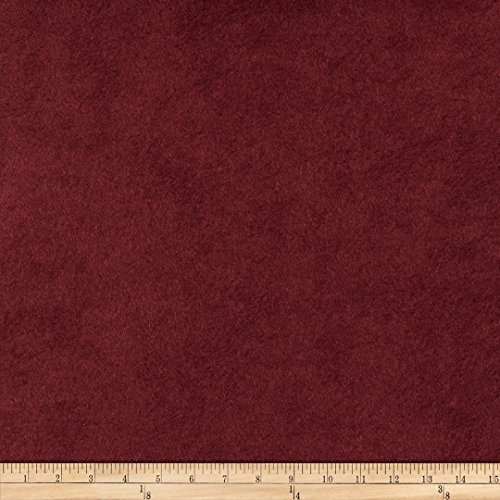 Morgan Fabrics Passion Faux Suede Wine