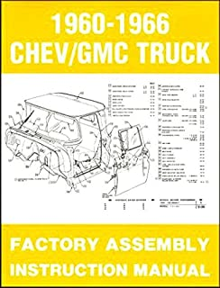 1960 1966 chevy gmc truck factory assembly instruction manual gm rh amazon com 66 Chevy Truck Wiring Diagram GM Truck Wiring Diagrams