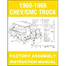 Amazon gm chevy chevrolet truck pickup books complete fully illustrated 1965 1966 chevy gmc trucks pickups factory assembly instruction manual includes c10 c20 c30 k10 fandeluxe Images