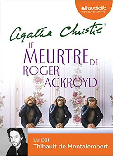 Le Meurtre De Roger Ackroyd Livre Audio 1cd Mp3 Audiobok
