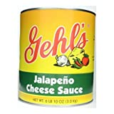 Gehl's Jalapeno Cheese Sauce, 6 Count (Pack of 6)
