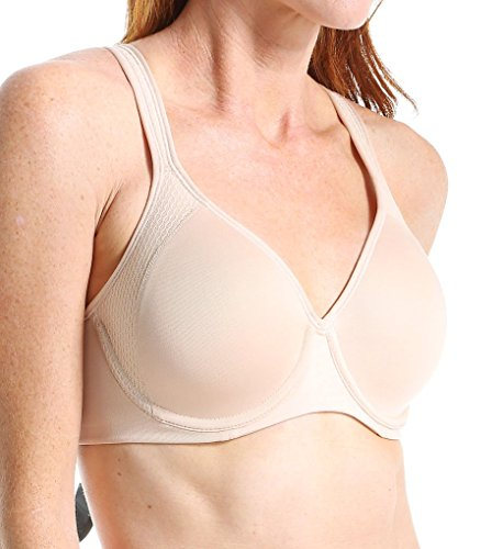 Bali Designs Women's Active Lifestyle Underwire, Champagne Shimmer/Blushing Pink Combo, 36C
