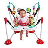 Sassy Inspire the Senses Bounce Around Lights and Sound Activity Baby Jumper with 3-Position Height Adjustments