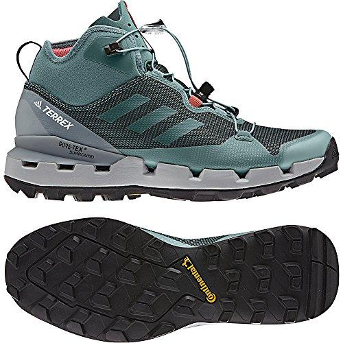 Adidas Outdoor Terrex Snel Gtx-surround Wandelschoen - Vrouwen Zwart / Grijs Vijf / Krijt Koraal, 9.5