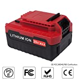 JJYDCGJ 5.0Ah 20V Max Replacement Lithium Ion Battery for Porter Cable PCC685L, PCC685LP, PCC680L, PCC682L, PCCK602L2, PCC600, PCC640