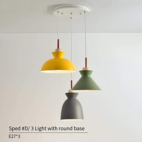 Luces colgantes modernas Luz de cocina Lámpara LED Lámpara ...