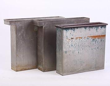 Amazon.com: Depósitos de acero inoxidable de 8 x 10 DIP ...