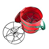 the reel brothers - Elf Stor Light Storage Bag with Steel Reels (Holds 2 100-Feet Strands)