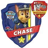 LoonBallon 27 Inch Paw Patrol Chase  amp; Marshall Balloon, Medium Shape, 5 Pieces