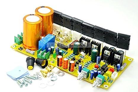 Active Subwoofer Pure Bass Power Amplifier Board 400W 30HZ-200HZ