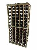 Vintner Series Wine Rack - 5 Column - 4 Ft - Premium Redwood Unstained