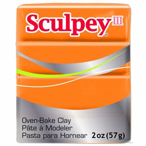 (Sculpey III Polymer Clay 2 Ounces-Sweet Potato)
