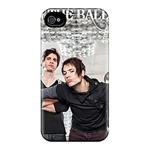 Iphone 4/4s Yli19975qBgz Provide Private Custom Realistic My Chemical Romance Band Series Bumper Cell-phone Hard Cover -AaronBlanchette