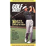 Golf Digest - 10 Quick Tips to Lower Scores