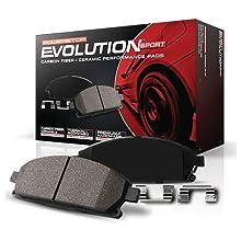 Power Stop (Z23-436) Z23 Evolution Sport Brake Pads, Front