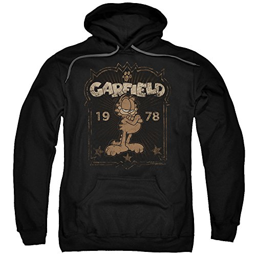1978 Garfield - Trevco Garfield EST 1978 Unisex Adult Pull-Over Hoodie for Men and Women