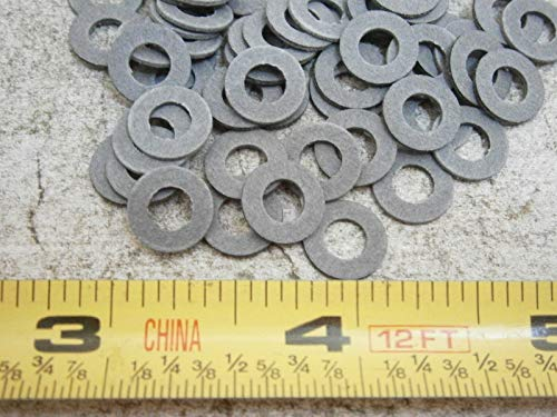 Flat Washers .375'' OD .188'' ID .032'' Thick Fiber LOT of - 100#0043 - Quality Assurance from JumpingBolt