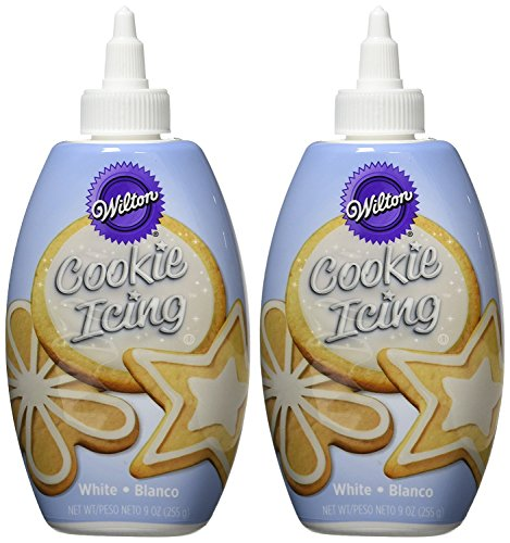 Wilton White Cookie Icing Set, 2-Count -