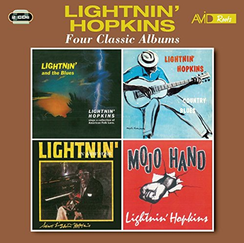 4 Classic Albums (Lightnin & The Blues / Country Blues / Lightnin In New York / Mojo Hand)