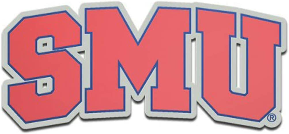 WinCraft Southern Methodist University Mustangs SMU Auto Badge Emblem Hard Thick Acrylic