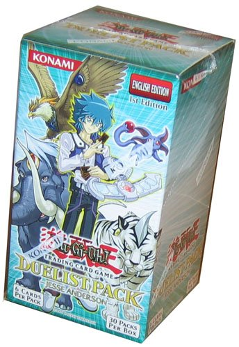 Upper Deck Booster Box - YuGiOh GX Card Game Duelist Pack Booster Box Jesse Anderson (30 Packs)