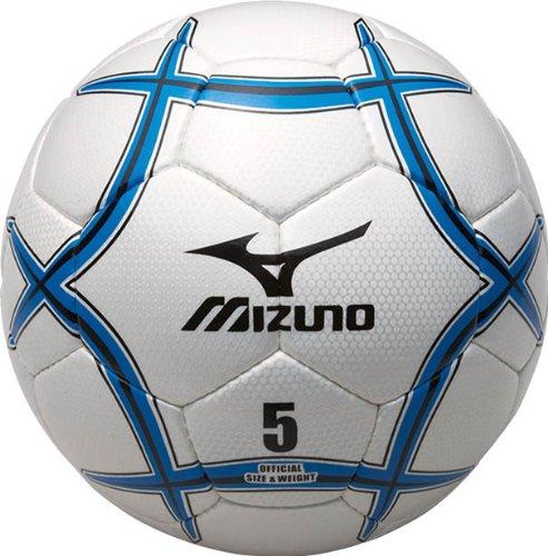 MIZUNO(ミズノ) サッカーボール5号球 12OS32027 ホワイト×ブルー×ブラック