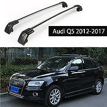 Fit for Audi Q5 2012-2017 Lockable Baggage Luggage Racks Roof Rack Rail Cross Bar Crossbar