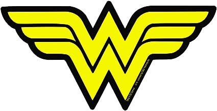 Amazon Com Licenses Products Dc Comics Originals Wonder Woman Logo Sticker Toys Games