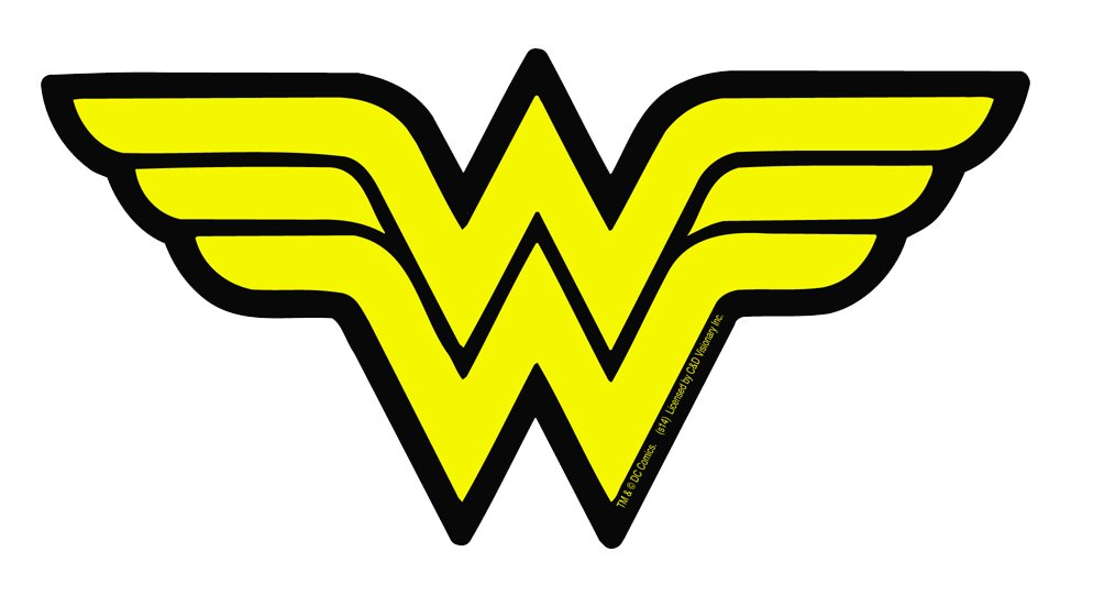 amazon com licenses products dc comics originals wonder woman logo rh amazon com wonder woman logo template wonder woman logo vector