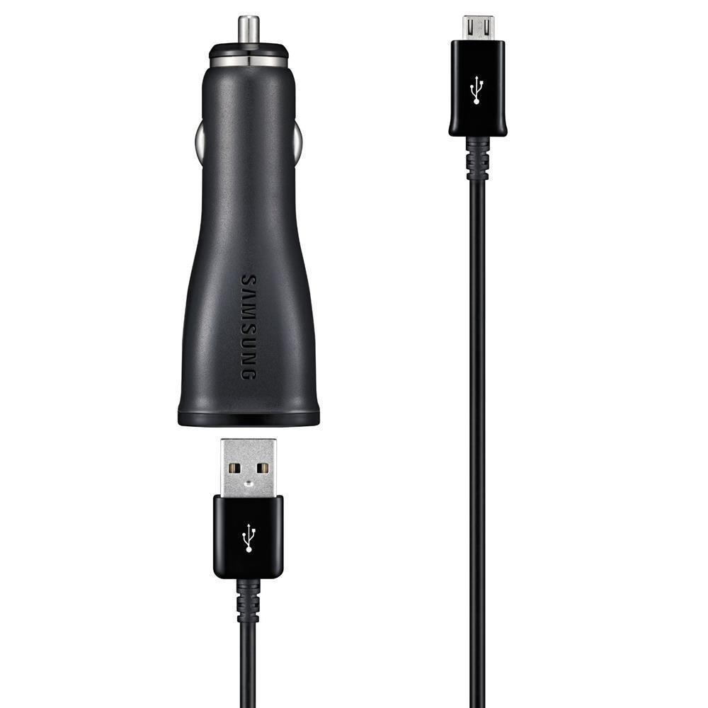 Cargador de coche para Micro USB Samsung ECA-U21CBEGSTD - Versi/ón Extranjera 2 A
