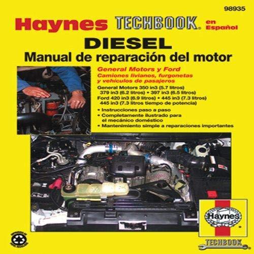 uage) Diesel Manual de Reparación del Motor Haynes Techbook (98935) ()