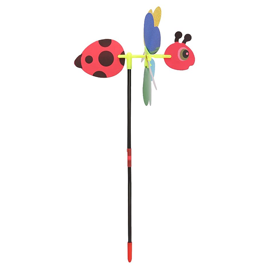 ハグ正しく四分円SONONIA 3D DIY 観覧車風車 風回転子 子供 屋外 遊び場 おもちゃ 光沢 高品質 ポータブル