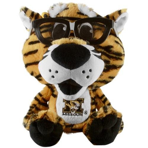 Fabrique Innovations NCAA Study Buddy Mascot Plush Toy, Missouri Tigers