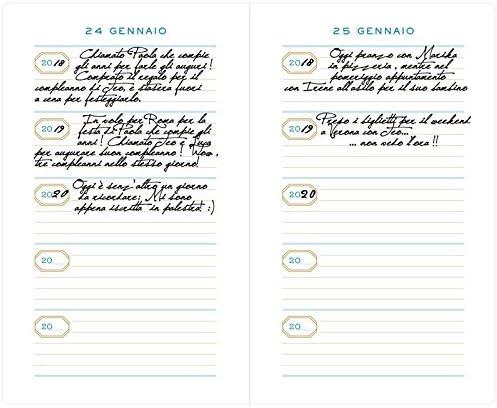 Con Segnalibro Cinque anni del mio diario Una nota al giorno