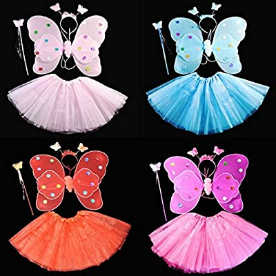 kasit Fairy Princess Rod 4pcs Set hada mariposa Party princesa ...