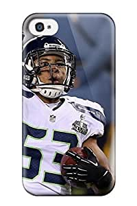 Anti-scratch And Shatterproof Seattleeahawks Phone Case For Iphone 4/4s/ High Quality Tpu Case
