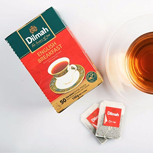 Supreme Breakfast (Dilmah CEYLON tea ENGLISH BREAKFAST|EARL GREY|CEYLON SUPREME|ENGLISH AFTERNOON (English Breakfast))