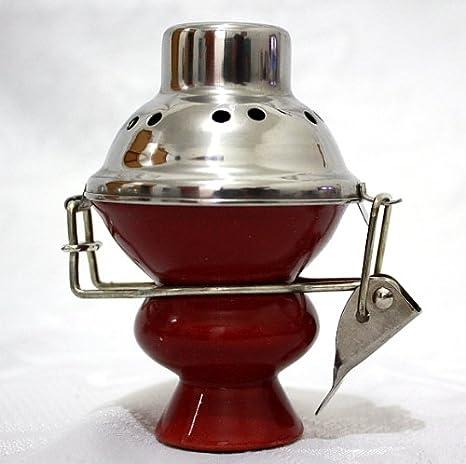 Amazon.com: Hookah Shisha Tazón Bol de cerámica y acero ...