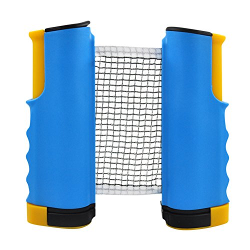 WINOMO Retractable Ping Pong Net Replacement Portable Table Tennis Net and Post by WINOMO