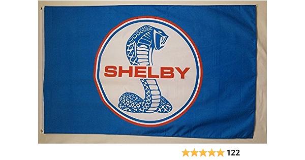 FORD SHELBY COBRA SVT 3/'x5/' Flag Banner WHITE CHECKER Fast Free Shipping